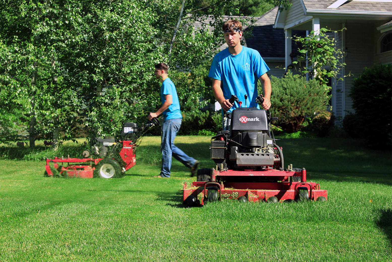 Full service landscape maintenance company northern Vermont